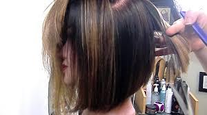angled bob hair style for medium bob hair style for woman simple bob hairstyle