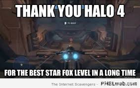 Level Meme - halo 4 star fox level meme pmslweb