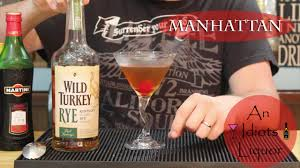 classic manhattan drink wild turkey manhattan cocktail drinks on a budget youtube