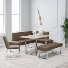 modern kitchen nook furniture with comfortable breakfast corner