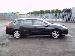 renault laguna estate dci150 turbo diesel 2008 in black in
