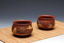 Handmade Tea Cups - made zisha clay tea cup yixing pottery handmade zisha clay