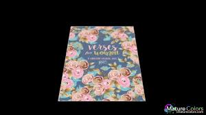 inspired to grace verses for women a christian coloring book