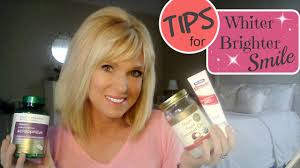 whiten teeth at home tips for a whiter brighter smile youtube