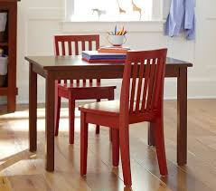 play table and chairs carolina small table 2 chairs set pottery barn kids