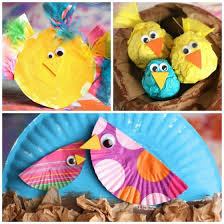 Easy Arts And Crafts For Kids With Paper - 25 easy bird crafts for preschoolers happy hooligans