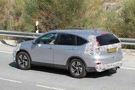 honda crv 2016 2016 honda cr v facelift spied while testing autoevolution