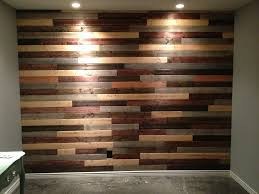 How To Make End Tables Out Of Pallets by Best 25 Pallet Walls Ideas On Pinterest Pallet Accent Wall