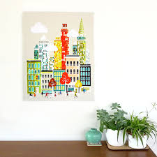 new york wall art manhattan skyline framed canvas wall art