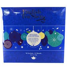 tea shop collection blue tray 96 sachets 144g