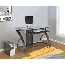 Computer Desks For Dual Monitors Double Computer Desk Dual Monitor Gaming Geeky Stuff Pinterest