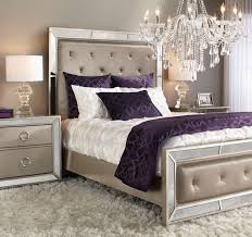 Silver Bedroom Furniture Sets by Best 25 Purple Master Bedroom Ideas On Pinterest Purple Bedroom