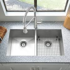 kitchen double sink edgewater 33x22 double bowl stainless steel kitchen sink