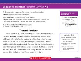sequence of events lessons tes teach