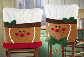 snowman chair covers christmas chair cover pattern home designing