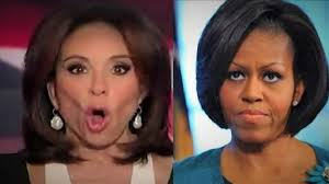judge jeanine pirro hair wow first lady michelle obama gets the wrath of judge jeanine