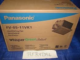 panasonic fan fv 05 11vk1 panasonic fv 05 11vk1 whispergreen select 50 80 110 cfm vent fan 4