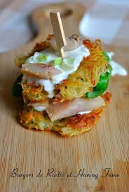 comment cuisiner le hareng fumé burger de rostïs au hareng fumé herring hareng sild 3