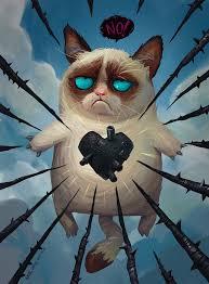 grumpy cat valentines grumpy cat by artursadlos on deviantart