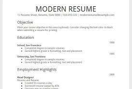 Bold Resume Template by Simple Resume Template Screenshoot Templates For Docs