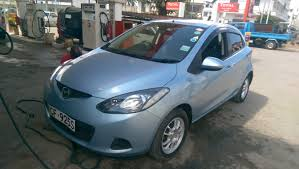 mazda demio light blue kenya car bazaar ltd