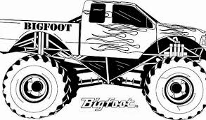 monster truck coloring pages cars trucks images