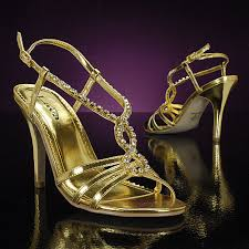 wedding shoes gold color world style prom shoes