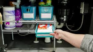 Under Sink Organizer Kitchen - tested a new under sink organizer polished habitat