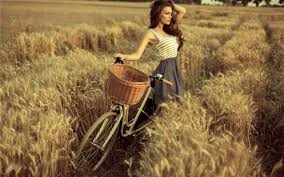 cute with cycle girls hd 4k wallpapers
