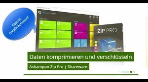 ashampoo zip pro review u0026 testbericht downloadmix youtube