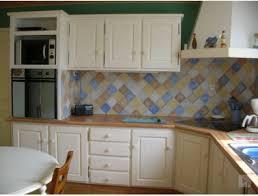 peindre une cuisine rustique peindre cuisine bois