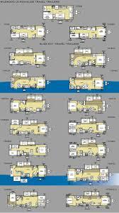 best 25 travel trailer floor plans ideas on pinterest airstream forest river wildwood travel trailers floor plans