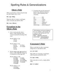 spelling rules plural nouns spelling rules plural rules and