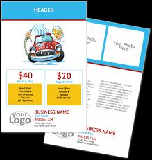 car wash detailing flyers youprint com
