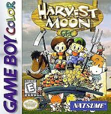 harvest moon harvest moon gbc nintendo game boy color 1999 ebay