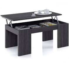 coffee table that raises up raising coffee table swagger inc
