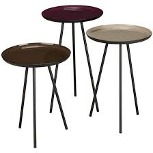 Conran Coffee Table Content By Conran Accents Side Tables With Metallic Top By