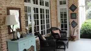 Screen Porch Designs For Houses Southern Screened Porch Our Home Tour Our Southern Home