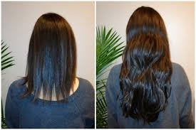 Before After Hair Extensions by Hair Extensions Salon Pavel