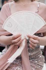 fan style wedding programs new york wedding with style wedding ceremony programs