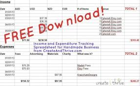 Small Business Income And Expenses Spreadsheet by C T Q A How Do You Track Your Income And Expenditure Bonus
