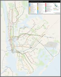 New York Rail Map by Futurenycsubway 2016 U2013 Vanshnookenraggen