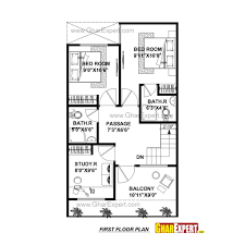 Square Meter by Architectures House Plan For 20 Feet By 45 Feet Plot 25 45 Feet