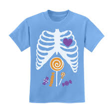 Halloween T Shirts For Dogs by Xray Candy Skeleton Halloween Kids Kids T Shirt Funny Ebay