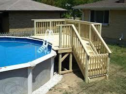 wedding cake pool steps above ground pool style bullyfreeworld