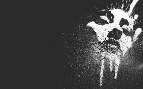 Face Paint Spray - minimalism creative black background paint spray face hd