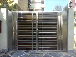 Home Gate Design Catalog Modern Stainless Steel Main Gates Design Idea Fences Pinterest