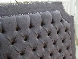 Gray Tufted Headboard Purple Velvet Tufted Headboard Home Design Ideas