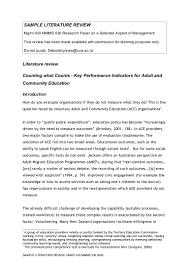 template for literature review eliolera com