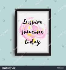 design inspiration words inspiration words on modern frame design stock vector 506522932